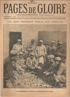 Militaria Pages De Gloire N°51 Du 21 Novembre 1915 Un Bon Moment Pour Les Poilus, La Distribution Du Tabac - Français