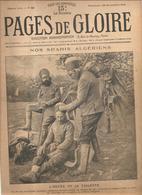 Militaria Pages De Gloire N°52 Du 28 Novembre 1915 Nos Spahis Algériens L'heure De La Toilette - Français