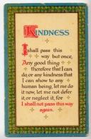 Kindness - Formato Piccolo Non Viaggiata – E 11 - Other