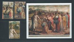 Tristan Da Cunha 1983 Raphael Paintings Set 3 & Miniature Sheet MNH - Tristan Da Cunha