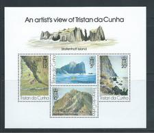 Tristan Da Cunha 1980 Painting Of Scenes Miniature Sheet MNH - Tristan Da Cunha