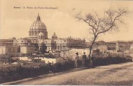 AK Roma - S. Pietro Da Porta Cavalleggeri - 1910 (40683) - Kerken