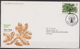 Grossbritannien 1973 MiNr.615 FDC Jahr Der Baumpflanzung ( D 698 )günstige Versandkosten - FDC