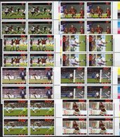 Championat 2006 AFGHANISTAN 8 Werte Im 4-Block ** 48€ Spielszene FIFA Fußball-WM Blocs Hb Ss Soccer Sheets Football - Afghanistan