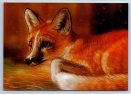 RED FOX Wild Animal New Unposted Postcard - Tierwelt & Fauna