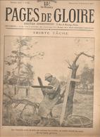 Militaria Pages De Gloire N°53 Du 5 Décembre 1915 Triste Tâche Un Soldat Inscrit Les Noms Des Morts Glorieux - Français