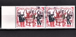 MONACO 1974 - PAIRE N° 977  - OBLITERES - Oblitérés