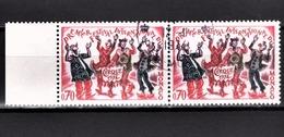 MONACO 1974 - PAIRE N° 977  - OBLITERES - Used Stamps
