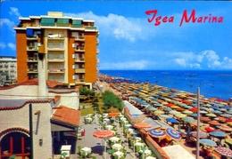 Igea Marina - Panorama Della Spiaggia - Formato Grande Viaggiata – E 11 - Non Classificati