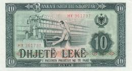 Albanie / 10 Leke / 1976 / P-43(a) / UNC - Albania