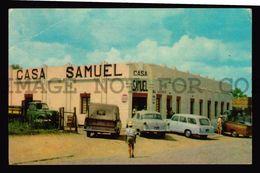 URUGUAY BRAZIL SAMUEL CHUI TOWN STORE PEPSI ADVERTISING POSTCARD MERCEDES CARS  (W4_3448) - Uruguay