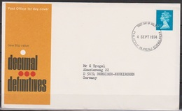 Grossbritannien 1974 MiNr.658 FDC Königin Elizabeth II. ( D 6454 )günstige Versandkosten - FDC