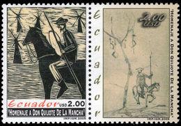 Ecuador 2005 Don Quixote Unmounted Mint. - Ecuador