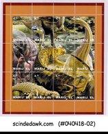 RUSSIA MARI EL - 2001 DINOSAURS A PREHISTORIC ANIMAL - MIN/SHT MNH - Stamps