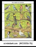 Ghana - 1991 The BIRDS Of Ghana / BIRD - Colorful Min. Sheet MNH - Ghana (1957-...)