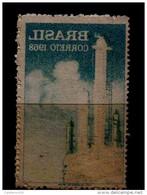 RE) 1968 BRAZIL, PETROBAS, OIL INDUSTRY, MIRROR PRINTING ERROR -LIGHTLY - Brazil
