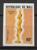 Mali - 1981 - N°Yv. 403 - Statuettes - Non Dentelé / Imperf. - Neuf Luxe ** / MNH / Postfrisch - Mali (1959-...)