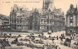 62 - ARRAS - Le Marché De La Place De La Vacquerie - Arras