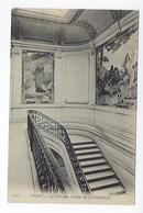 CPA Paris La Sorbonne Escalier De La Bibliothèque - Education, Schools And Universities