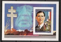 Mali - 1995 - KLB N°Yv. 754 - De Gaulle - Non Dentelé / Imperf. - Neuf Luxe ** / MNH / Postfrisch - De Gaulle (Generale)