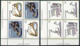 NB - [72825]Canada 1977 - Les Inuits, Chasse, Poissons, Phoque, En Paire, Cdf - Autres