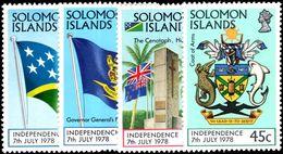 Solomon Islands 1978 Independence Unmounted Mint. - Solomon Islands (1978-...)