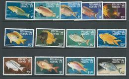 Pitcairn Islands 1984 Fish Definitive Set 13 MNH - Sellos