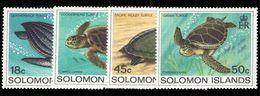 Solomon Islands 1983 Turtles Unmounted Mint. - Solomon Islands (1978-...)