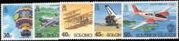 Solomon Islands 1983 Manned Flight Unmounted Mint. - Solomon Islands (1978-...)