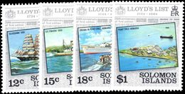 Solomon Islands 1984 Lloyds List Unmounted Mint. - Solomon Islands (1978-...)