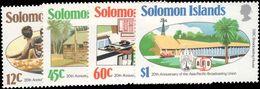 Solomon Islands 1984 Broadcasting Union Unmounted Mint. - Solomon Islands (1978-...)