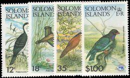 Solomon Islands 1984 Ausipex Birds Unmounted Mint. - Solomon Islands (1978-...)