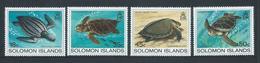 Solomon Islands 1983 Turtles Set 4 MNH - Solomon Islands (1978-...)