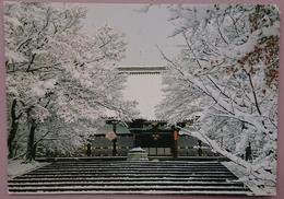 Kon-do Of The Ninnaji (temple) During Winter - Kyoto   Vg - Kyoto