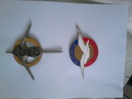RÉUNION.....AERO-CLUB..MARCEL GOULETTE.....AERO-CLUB  ROLAND GARROS - Miniatures