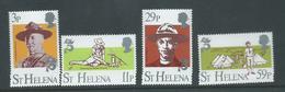 St Helena 1982 Boy Scout Set Of 4 MNH - Isola Di Sant'Elena