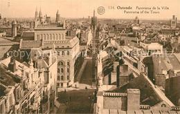 43488104 Ostende_Oostende Panorama De La Ville - Belgium