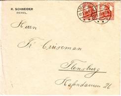 MEMEL Allemand Superbe Lettre Affranchie Germania Le 12 Mai 1919 - Memelgebiet