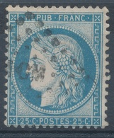 N°60 TYPE II VARIETE POSITION MARQUER AU VERSO - 1871-1875 Cérès