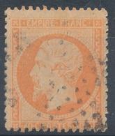 N°23 VARIETE FILET PIQUAGE NUANCE ET OBLITERATION. - 1862 Napoléon III