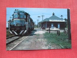 Train Station Chillicothe    Missouri        Ref 3308 - Etats-Unis