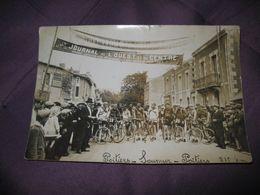 PHOTO ANCIENNE Poitiers Saumur Poitiers Noms Des Coureurs Au Verso - Poitiers