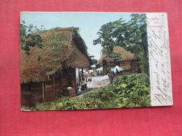 Over Printed Stamp   Native Hut  Panama      Ref 3308 - Panama