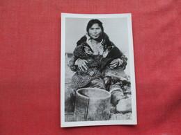 RPPC Eskimo Breast Feeding       Ref 3309 - Native Americans