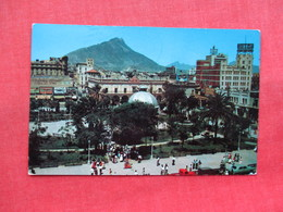 Plaza De Zaragosa Monterrey   Mexico  Has Stamp & Cancel     Ref 3309 - Mexico