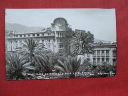 Plaza De Hidalgo Gran Hotel Ancira  Monterrey  Mexico  Has Stamp & Cancel     Ref 3309 - Mexico