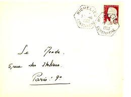 ALGERIE ENV 1960 RICHELIEU CONSTANTINE AGENCE POSTALE LETTRE AVION - Algérie (1924-1962)