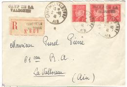 16934 - Linéaire CAMP DE LA VALBONNE - Storia Postale