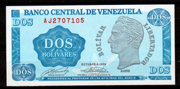 Venezuela-002 - (Immagine Campione) - 2 Bolivar - - Venezuela