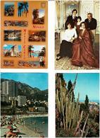 MONACO /  Lot De 83 Cartes Postales Modernes écrites - Cartes Postales